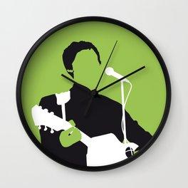 No076 MY MCCARTNEY Minimal Music poster Wall Clock