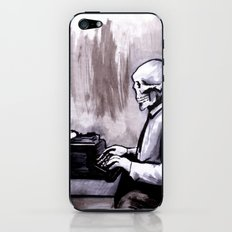 One Of Those On Whom Nothing Is Lost iPhone & iPod Skin