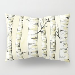 Silver Birch Pillow Sham