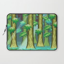 Forest of Pixels Laptop Sleeve