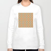 moroccan Long Sleeve T-shirts featuring Moroccan Orange by Mr and Mrs Quirynen