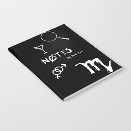 Scorpio Notes Notebook