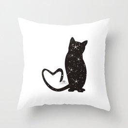 TheCat Throw Pillow