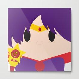 Sailor Mars Block Metal Print