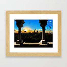 Kingdom at Sunset Framed Art Print