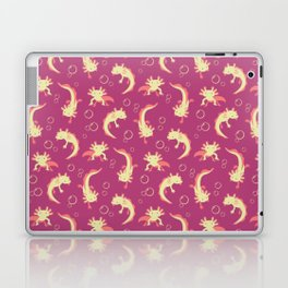 Relaxolotl - Rose Pink Laptop & iPad Skin