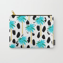 Palm Trees and Dots Carry-All Pouch