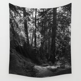 Big Sur Hike Wall Tapestry