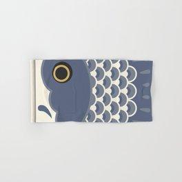 Koinobori   Grey Hand & Bath Towel