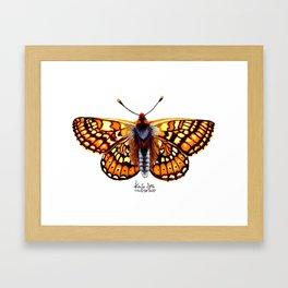 Tiger Stripes Framed Art Print