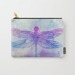 Mandala Dragonfly Carry-All Pouch