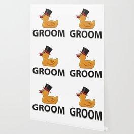 Groom Rubberduck Gift Wallpaper