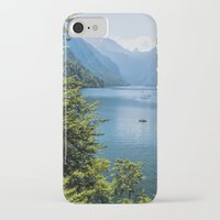 germany iPhone & iPod Cases featuring Germany, Malerblick, Koenigssee Lake III by UtArt