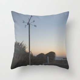 Cape Willoughby Lighthouse Throw Pillow