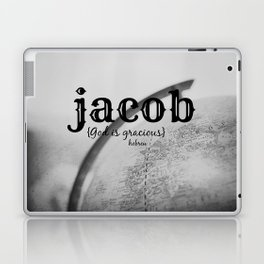 Jacob God is gracious Laptop & iPad Skin