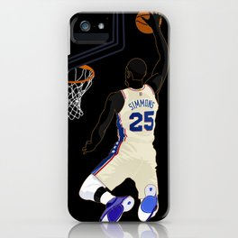 Simmo the Savage iPhone Case