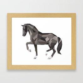 hourse Framed Art Print