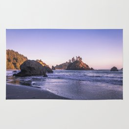 The Cove At Sunset Rug