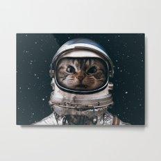 Space catet Metal Print