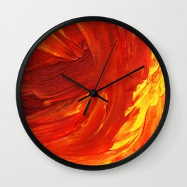 Lapeda Textile Art - 18 Wall Clock