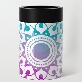 Mandala #2 (Purple Pink Turquiose) Can Cooler