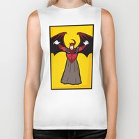 dungeons and dragons Biker Tanks featuring DUNGEONS & DRAGONS - AVENGER by Zorio