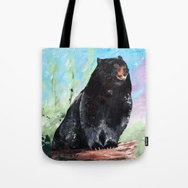 Animal - Courage of a Bear - by LiliFlore Tote Bag