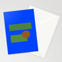 Abstract Pepe Stationery Cards