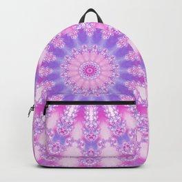 Pale Pink, Magenta, and Purple Mandala Backpack