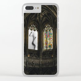 sinner and saint one Clear iPhone Case