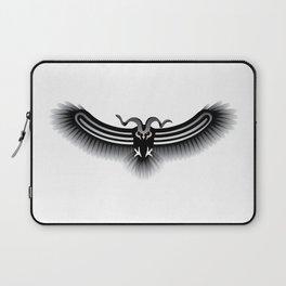 Horned Owl on the Hunt Laptop Sleeve