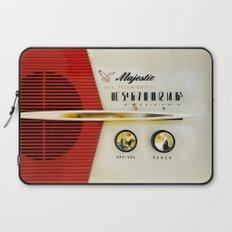 Classic Old Vintage Retro Majestic radio iPhone 4 4s 5 5c 6, ipad, pillow case, tshirt and mugs Laptop Sleeve