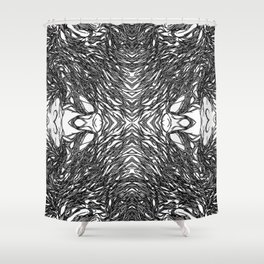 Subconscious Thoughts  Shower Curtain
