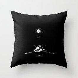 MARS 3 Throw Pillow