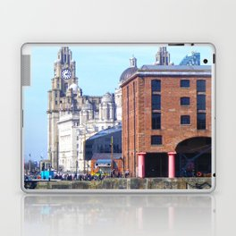 Albert Dock And the 3 Graces Laptop & iPad Skin