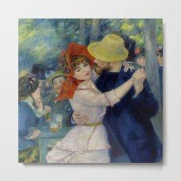 """Auguste Renoir """"Dance at Bougival"""" Metal Print"""