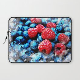 Fruits and berrys V Laptop Sleeve