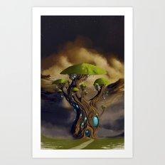 The Great Portal Tree Art Print
