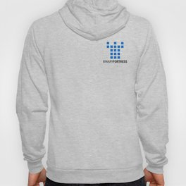 Binary Fortress Software (blue logo) Hoody