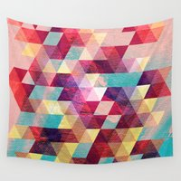 solid Wall Tapestries featuring Solid colors by Tony Vazquez