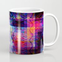 aztec Mugs featuring Aztec by deff