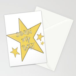 Doing My Best - Star Stationery Cards