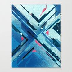 Geometric - Collage Love Canvas Print