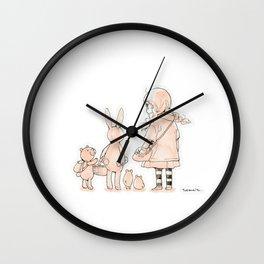 My friends Wall Clock