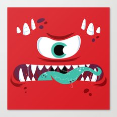 Baddest Red Monster! Canvas Print