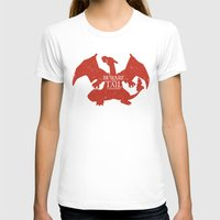charizard T-shirts featuring House Charizard by Alecxps