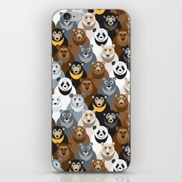 Bears Bears Bears iPhone Skin