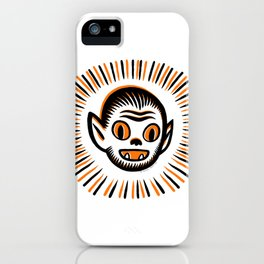 Werewolf Head iPhone Case