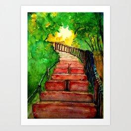 Kabbalah Sefirot Series: Ascension Art Print
