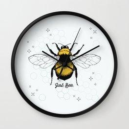 Just Bee. Wall Clock
